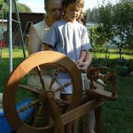 spinning-wool