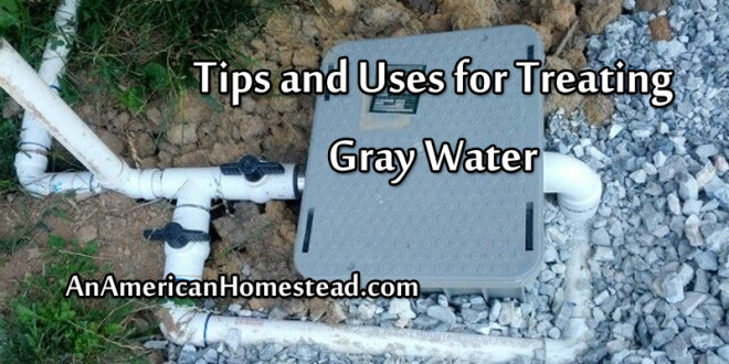 Tips And Uses For Treating Gray Water An American