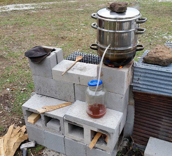 Cinder Block Rocket Stove Plans 9 ways our homestead cooks off grid ...