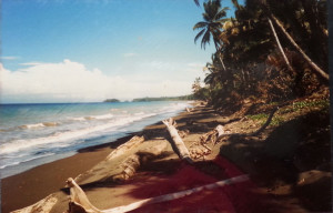 A beach on a Pacific island where I grew up.