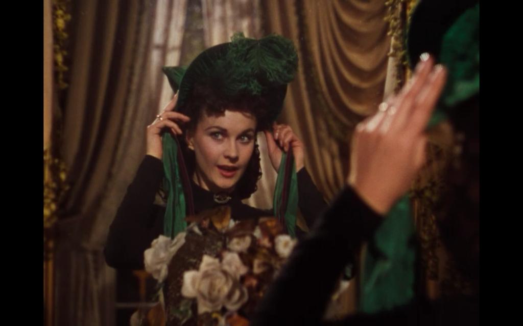 Scarlett Green Bonnet