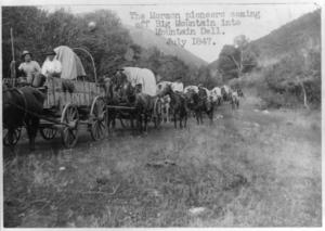 wagon-homesteading