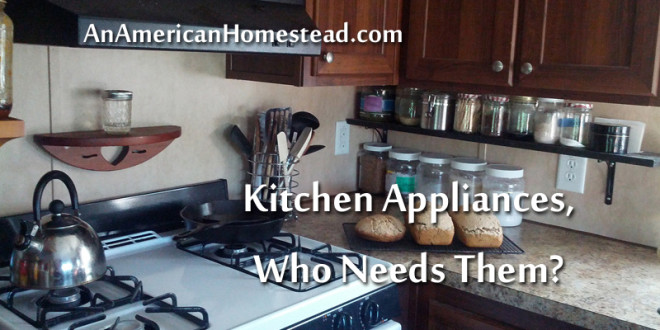 Kitchen Appliances, Who Needs Them?   Modern Homesteading Off Grid   An  American Homestead