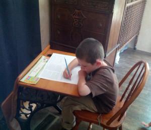 Joshua-school-desk