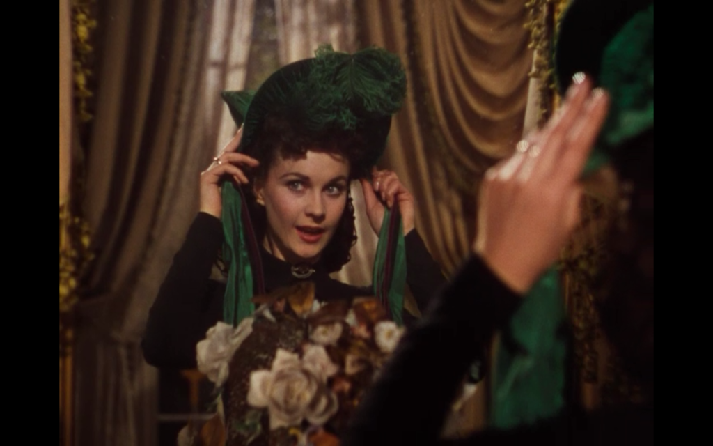 Scarlett Green Bonnet