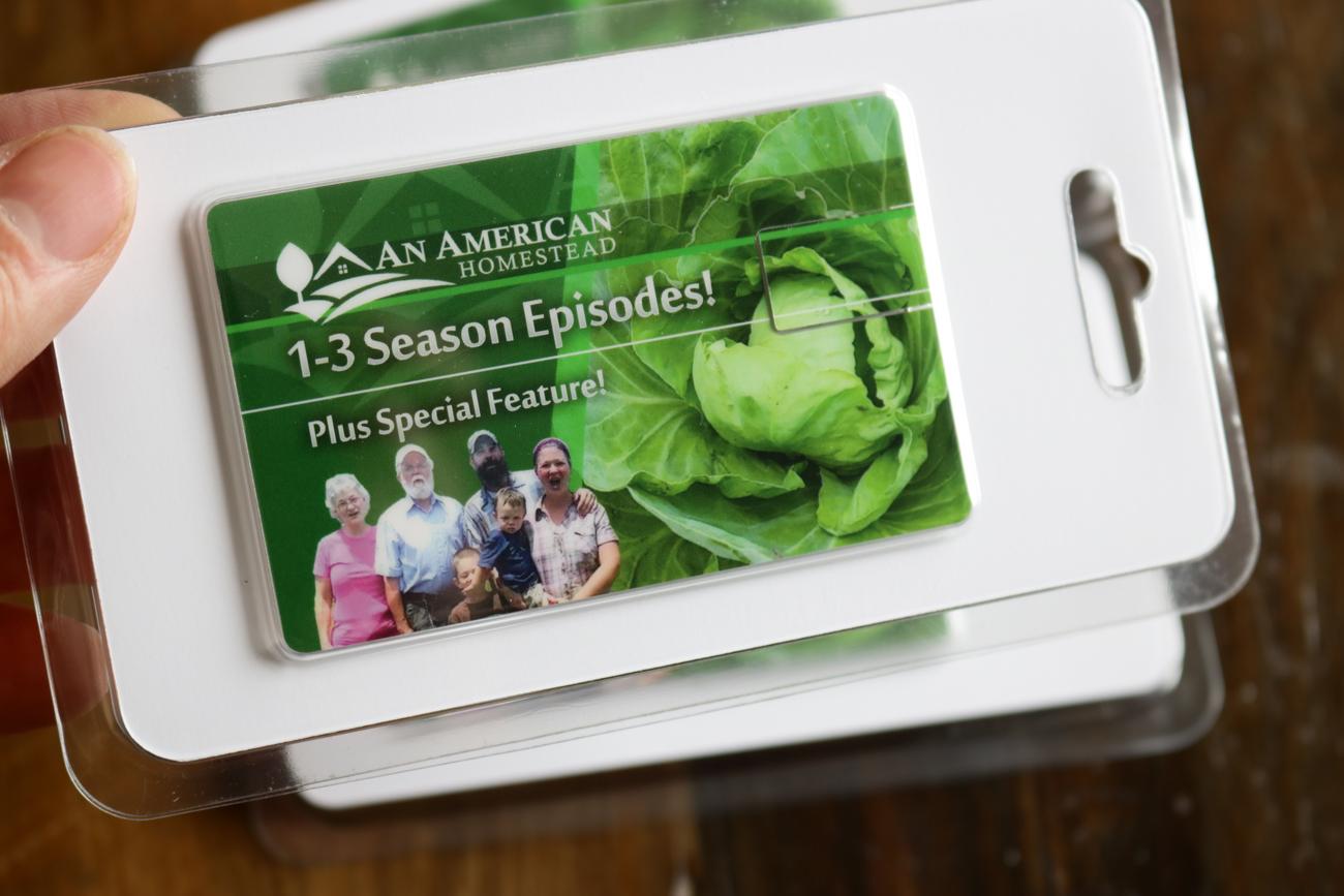 Homesteading Episodes Seasons 1 3 Thumb Drive Modern