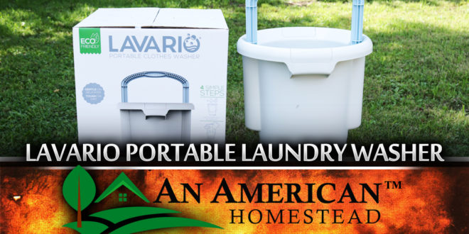 Lavario Off Grid Clothes Washer
