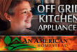 off grid kitchen appliances
