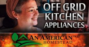 off grid kitchen appliances