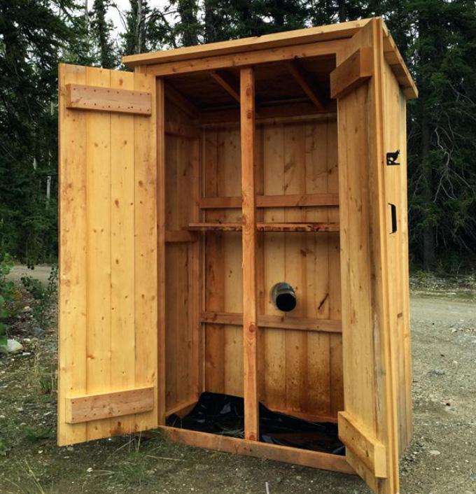 simple smokehouse plans