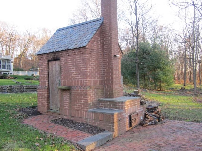 colonial smokehouse