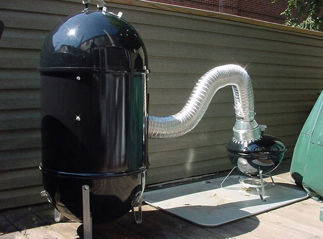 backyard smoker