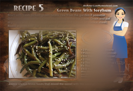 Green Bean with Sorghum Recipe