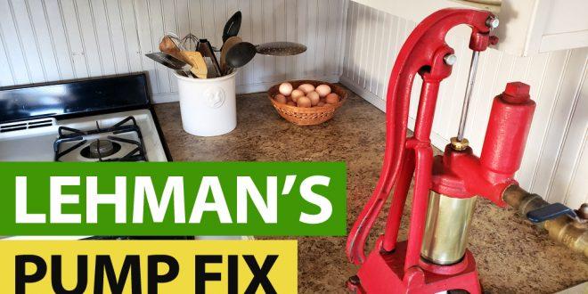 Lehmans Kitchen Water Pump