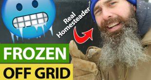 Frozen Off Grid homestead